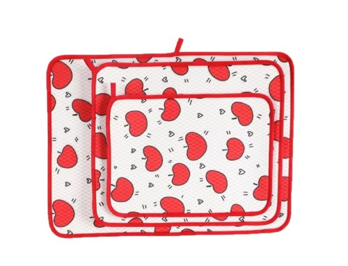 3 Pack Durable dishes drying pad kitchen counter mats