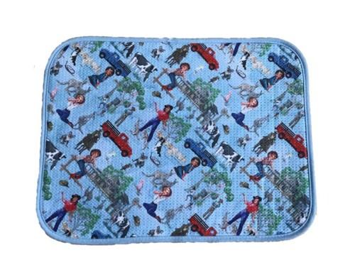 Absorber kitchen dish drying pad microfiber waffle dish mat