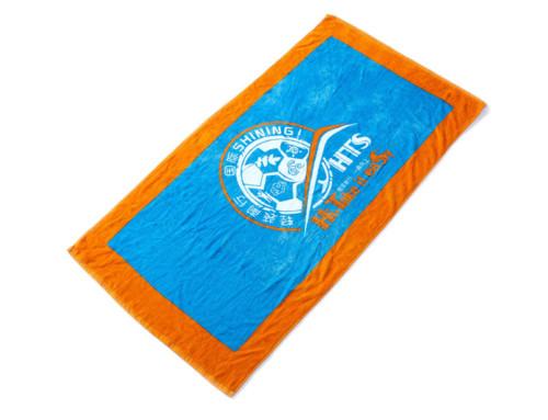 Cotton velour gym towel football champion best towels sport events