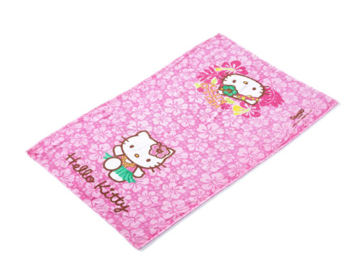 Pink towels cotton bath towels absorbent kids beach towels