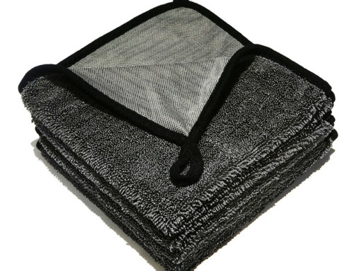 Long pile no lint best towel to dry your car microfibre absorber car towel