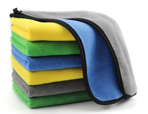 Microfiber towel for car seat 4 colors in stock car with towel in window
