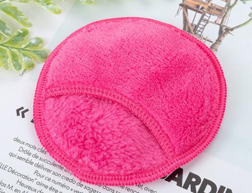 Wholesale reusable microfiber face eye makeup erase pad factory